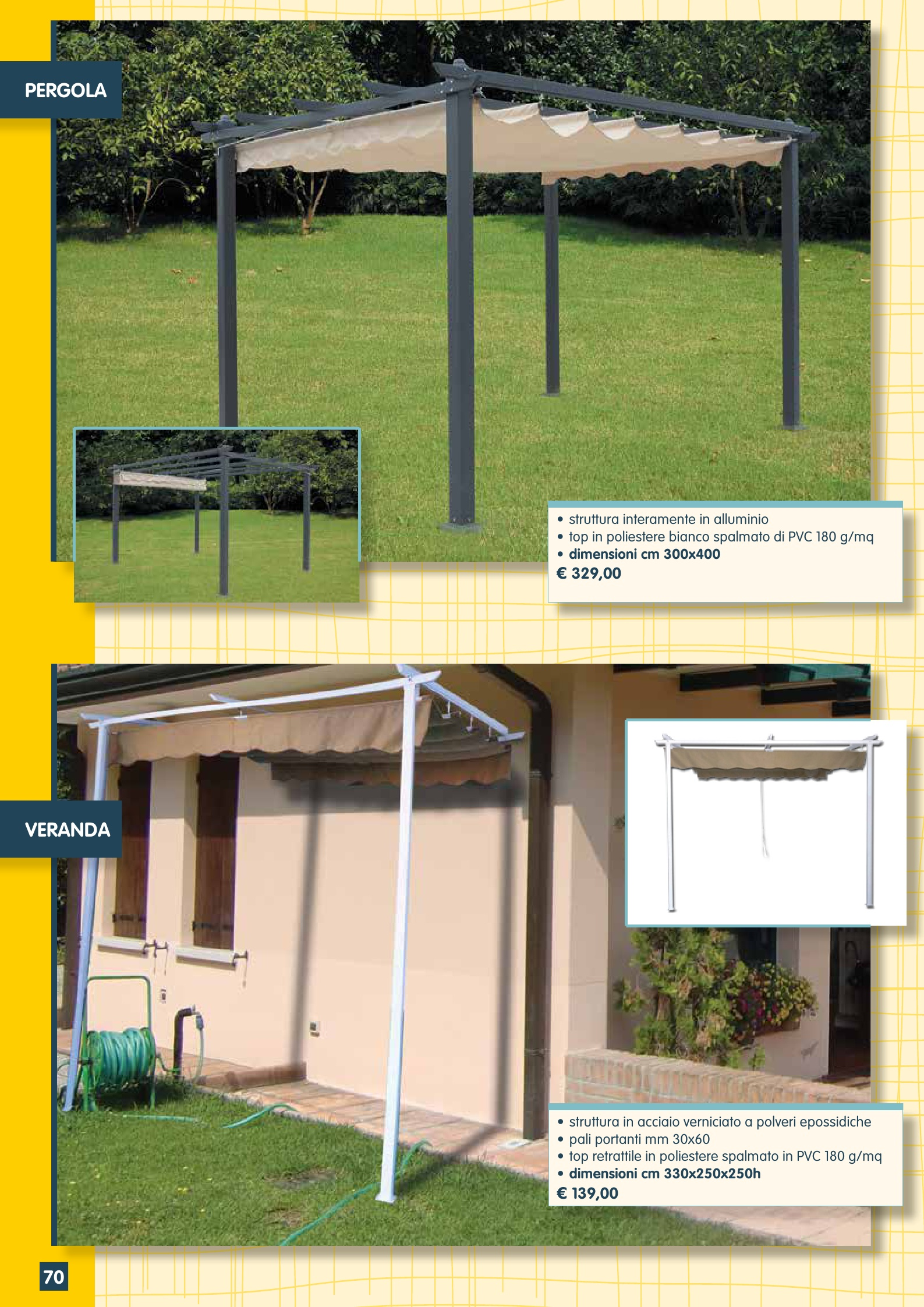 Arredi esclusivi per giardini balconi terrazzi windotherm - Arredi per giardini e terrazzi ...