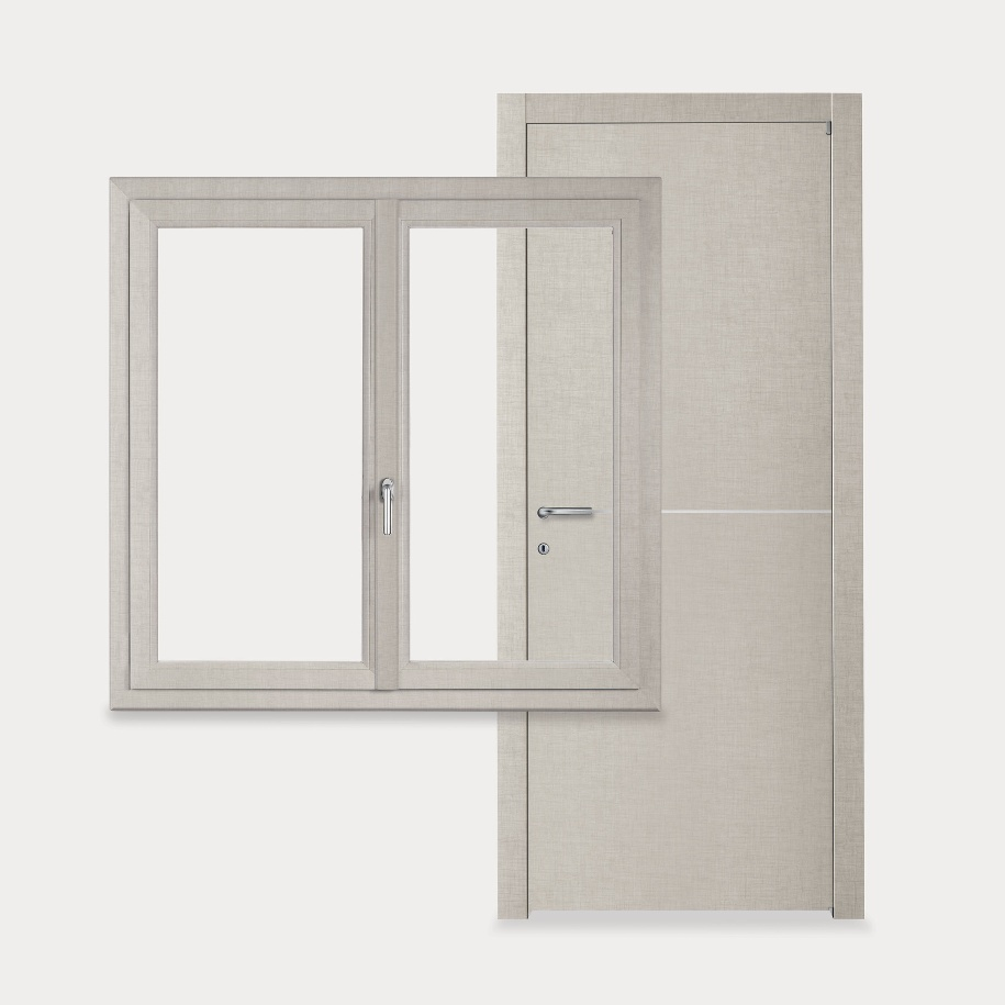New living stesse finiture per porte e finestre windotherm for Porte living