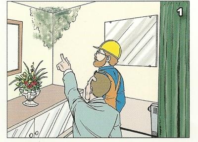 Muffa in casa colpa dei nuovi serramenti windotherm - Combattere la muffa in casa ...