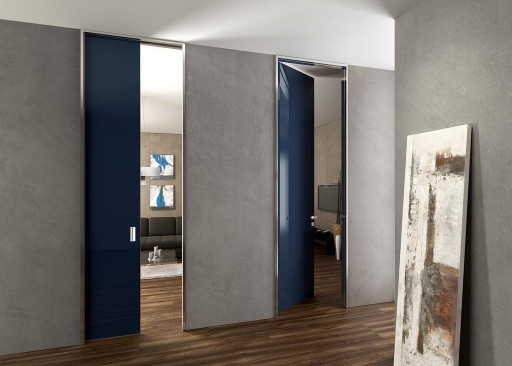 Porte in vetro scorrevoli e battenti salerno baronissi windotherm - Porte interne alluminio e vetro ...